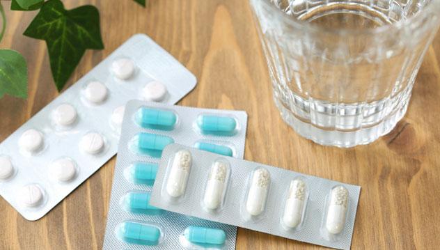片頭痛の時に服用する薬