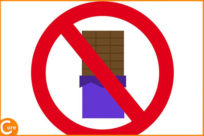 チョコレートが片頭痛の原因となっていることも